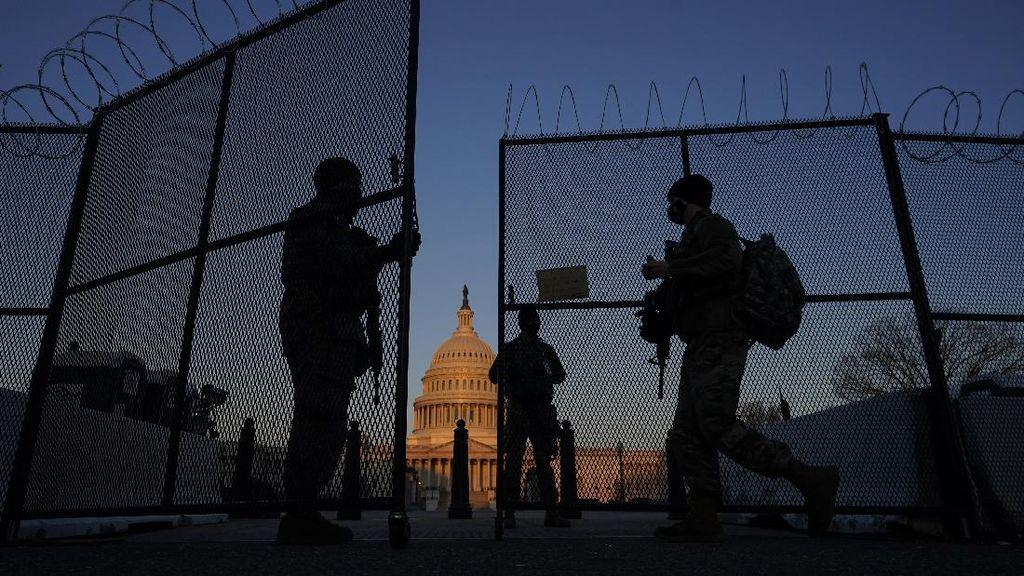 Ribuan Garda Nasional Kembali Amankan Gedung Capitol AS