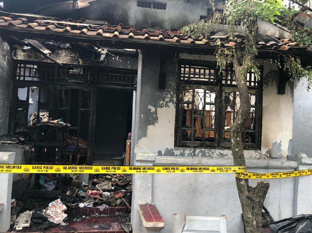 Pacar Sakit Hati Berujung Rumah di Tangerang Ludes Dilalap Api