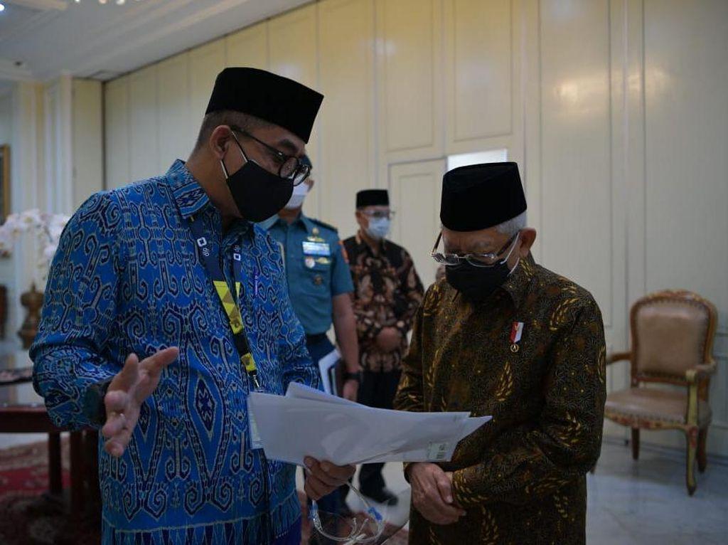 Wapres Maruf Amin Lapor SPT: Segera, Tanpa Tunggu Jatuh Tempo