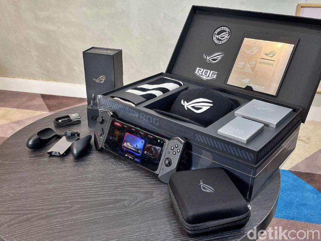 Unboxing Paket Ultimate ROG Phone 5
