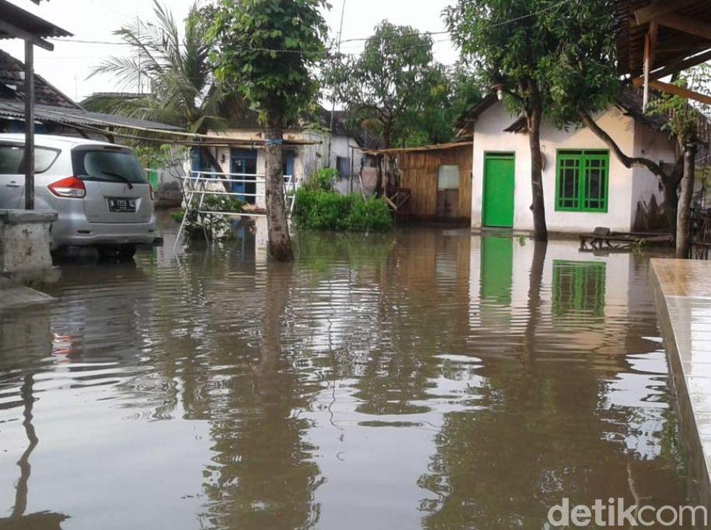 Jadi Langganan Banjir, Warga Desa di Pasuruan Minta Normalisasi Sungai