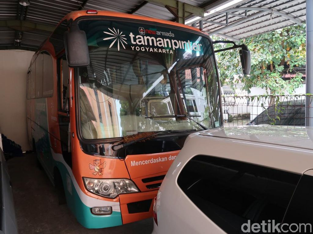 Foto: Aksi Jemput Bola ala Taman Pintar Yogyakarta