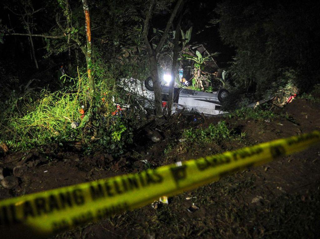 26 Keluarga Korban Kecelakaan Bus Maut Sumedang Dapat Santunan