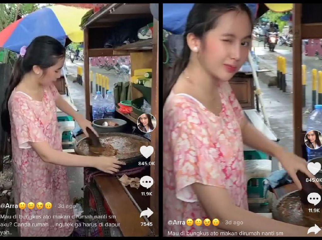 Viral Wanita Cantik Jago Masak Hingga Wanita BAB Cacing karena Makan Salad
