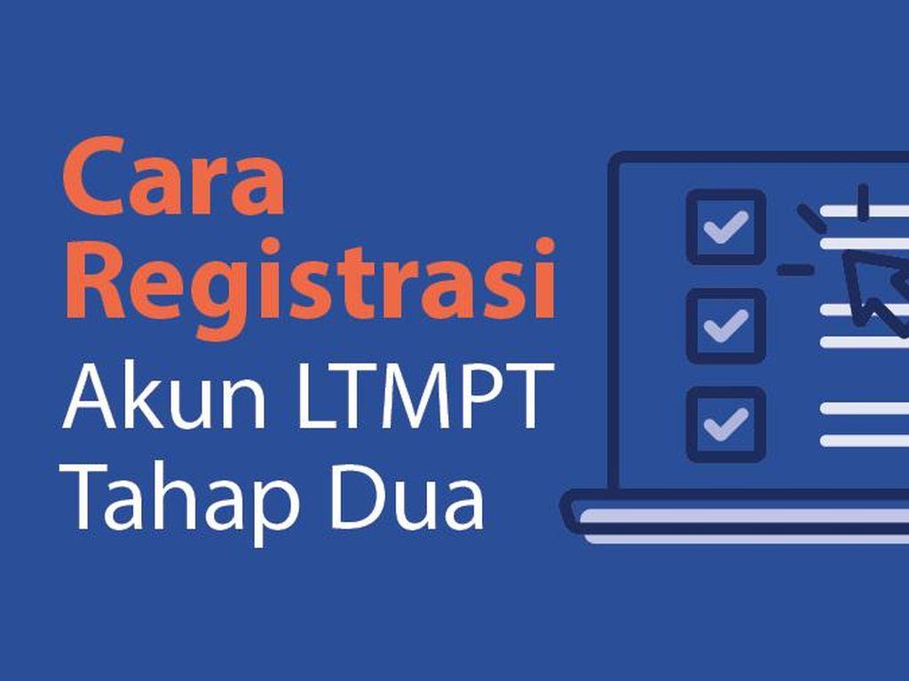 Cara Registrasi Akun LTMPT Tahap Dua yang Akan Ditutup Sore Ini