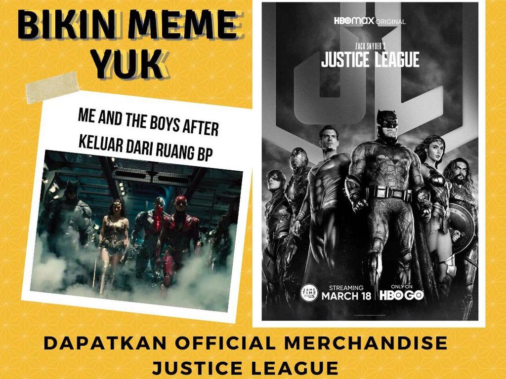 Mau Official Merchandise Zack Snyders Justice League? Cek di Sini!