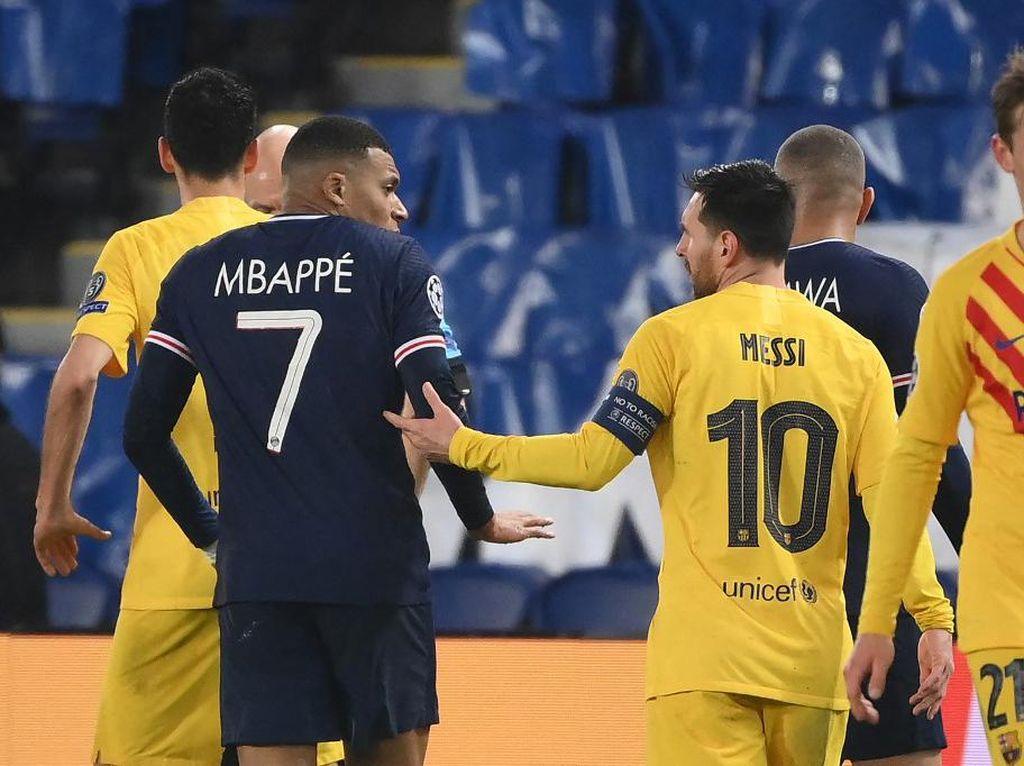 Wow! Mbappe Belum Terkalahkan Lawan Messi