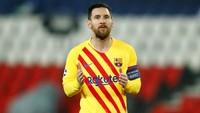 Ronaldinho: Bertahanlah di Barca, Messi!