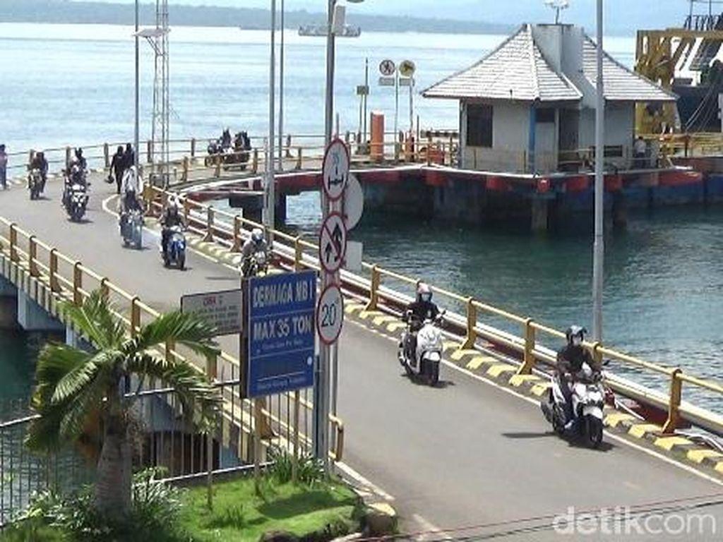 Pelabuhan Ditutup Saat Nyepi, Kondisi ASDP Ketapang Sepi