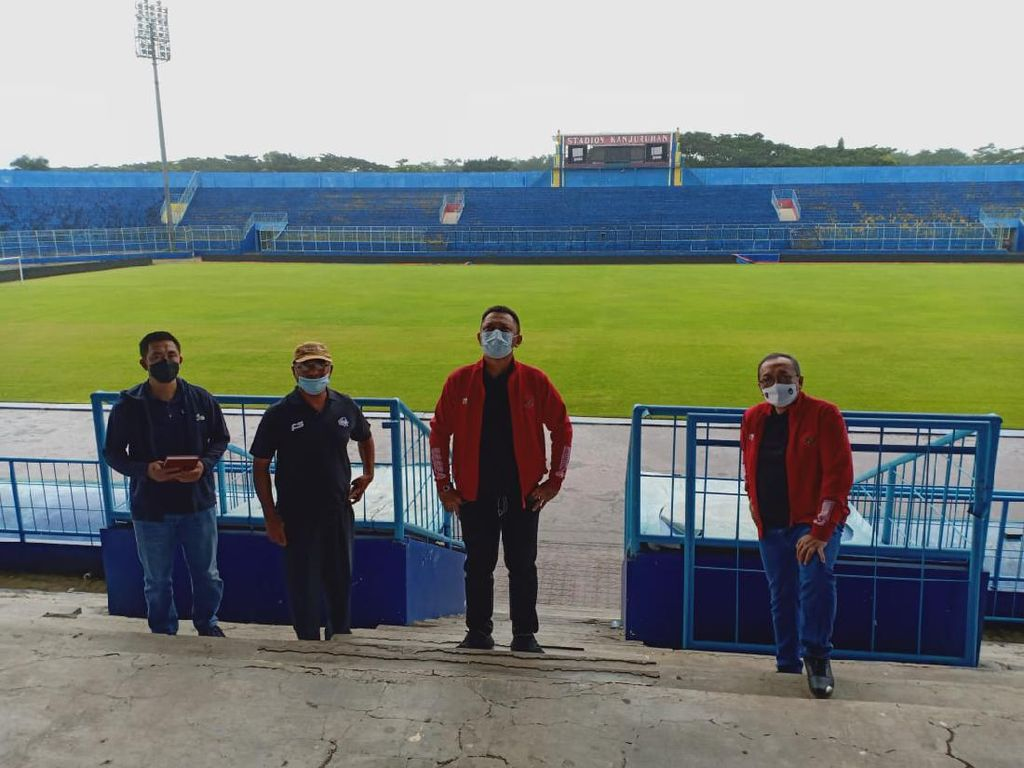 Dari Sleman dan Solo, OC Piala Menpora 2021 Tinjau Stadion ke Malang