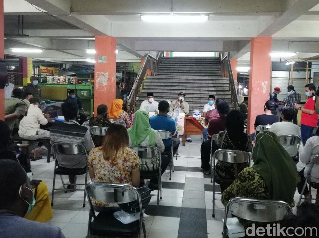 PKL Kota Pasuruan Curhat ke Gus Ipul, Minta Pelonggaran Batas Waktu Jualan