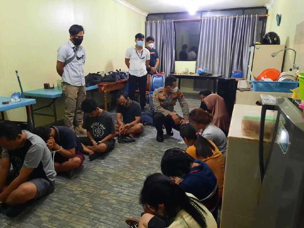 Polisi Gerebek Tempat Judi Togel Online di Jambi, 13 Orang Diamankan