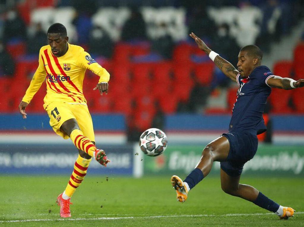 PSG Vs Barcelona Tuntas 1-1, Les Parisiens ke Perempatfinal