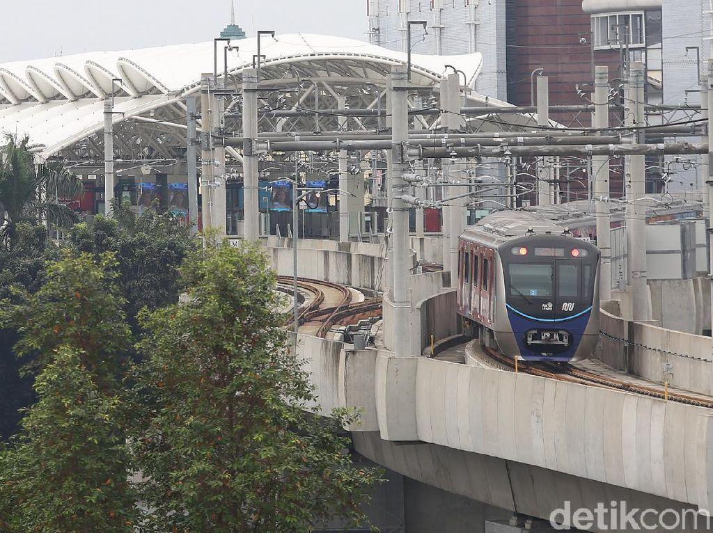 Proyek MRT Jakarta Rute Fatmawati-TMII Dibidik Korea
