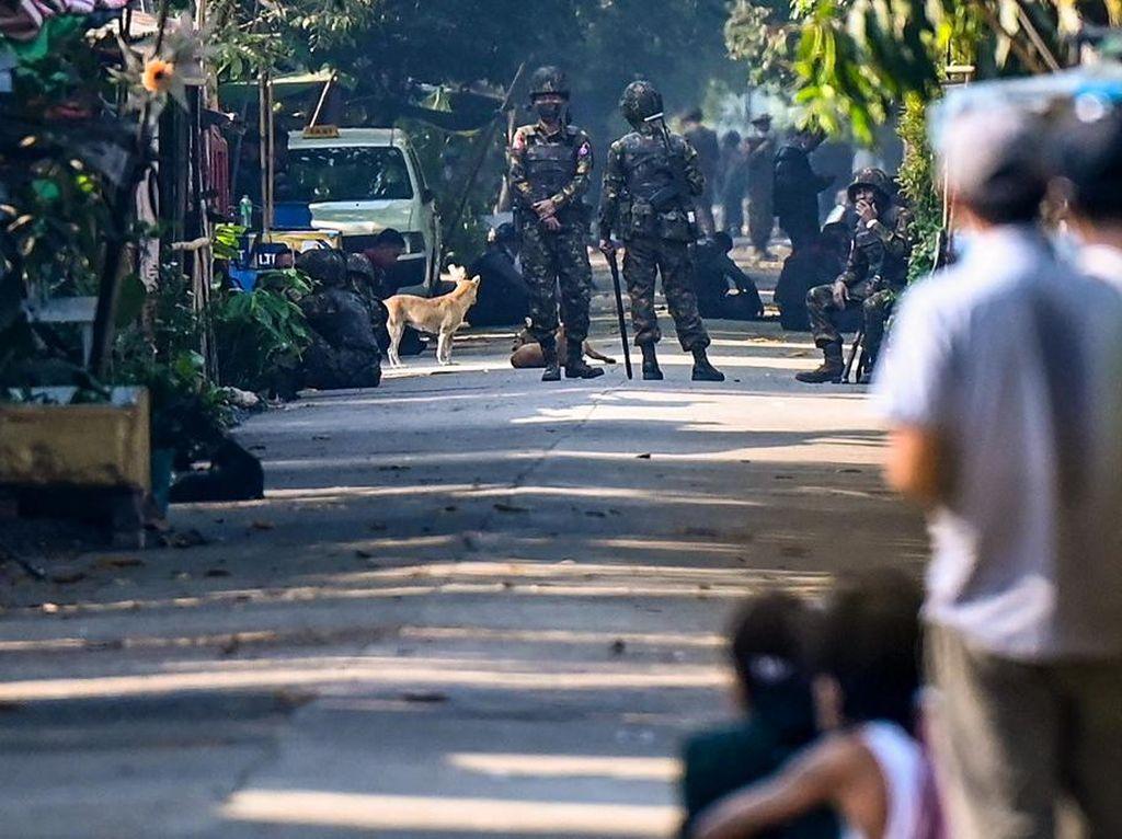 Junta Militer Myanmar Sesalkan Kematian 164 Demonstran Antikudeta