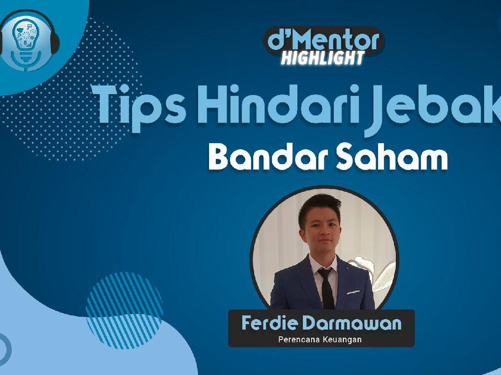 Investor Ferdie Darmawan Beri Tips Hindari Jebakan Bandar Saham