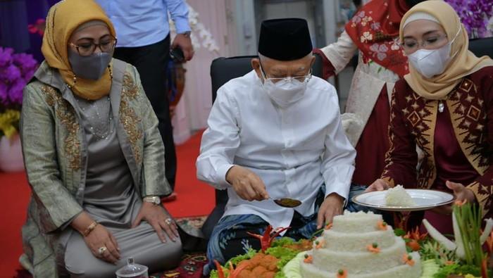 Wapres Maruf Amin berulang tahun ke-78 tahun. (Foto: dok. Setwapres)