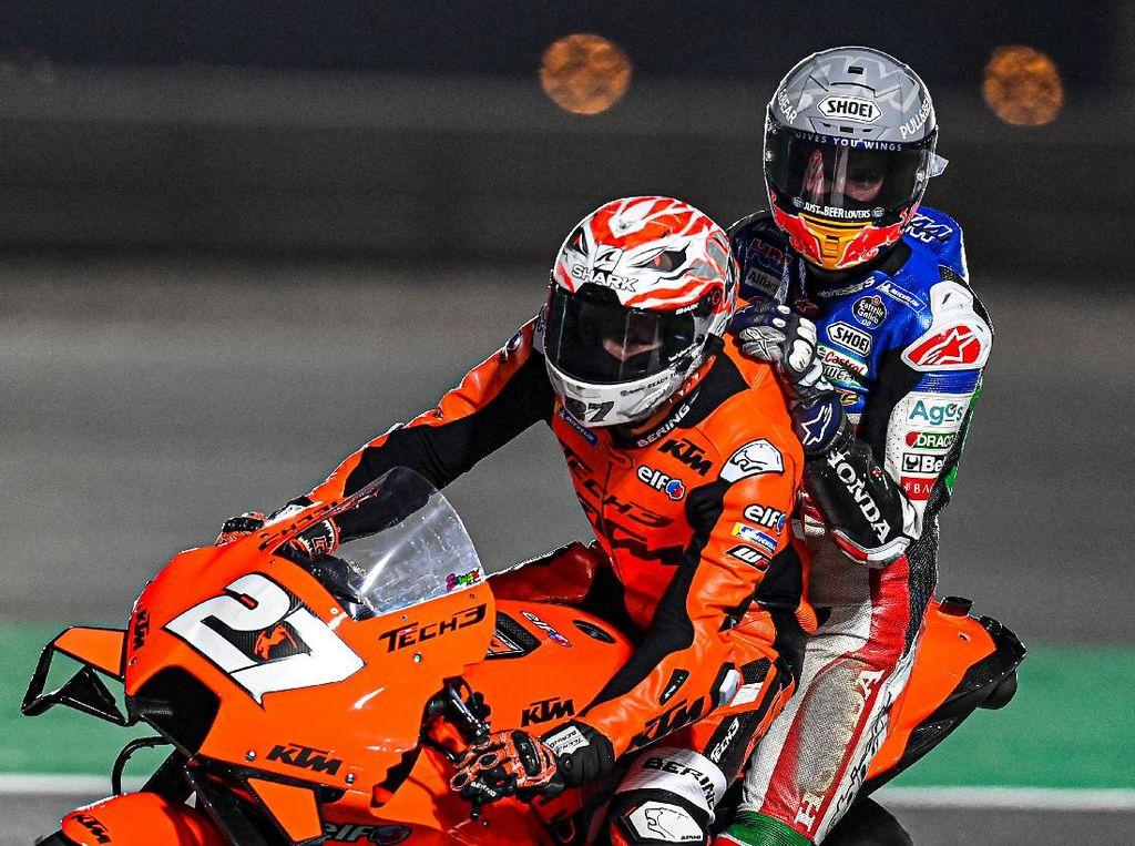 MotoGP 2021: Alex Marquez Crash, Cedera Retak Tulang Matacarpal