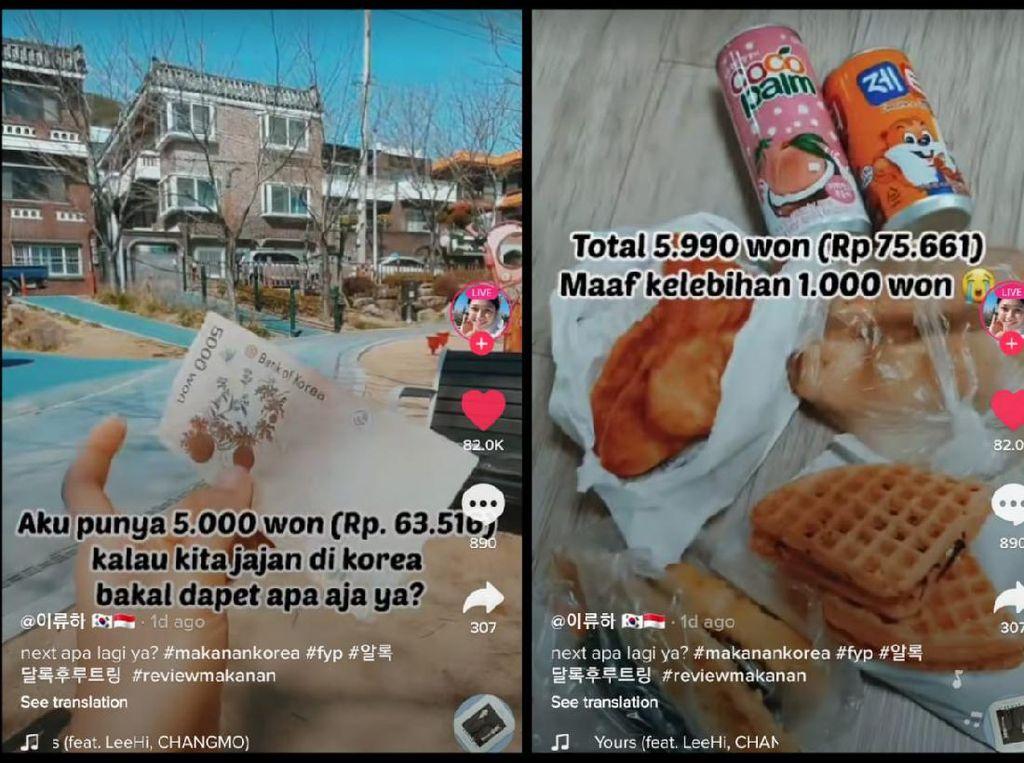Bawa 5.000 Won Netizen Ini Bisa Beli Banyak Jajanan Enak di Korea