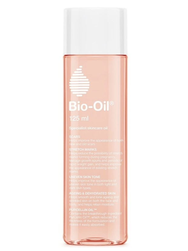 Bio oil menyamarkan stretch mark
