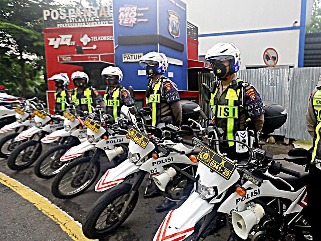 Mobil INCAR dan Motor Berkamera, Musuh Baru Pelanggar Lalin di Surabaya