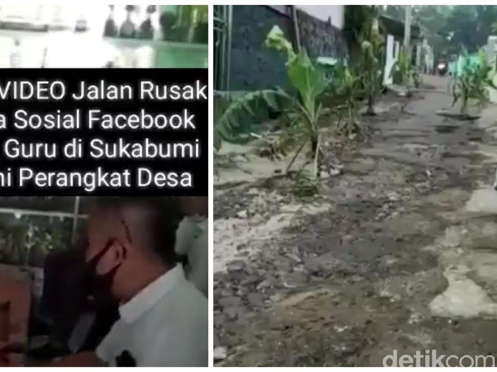 Aparat Desa Marahi Guru karena Posting Jalan Rusak, Ini 3 Aturannya