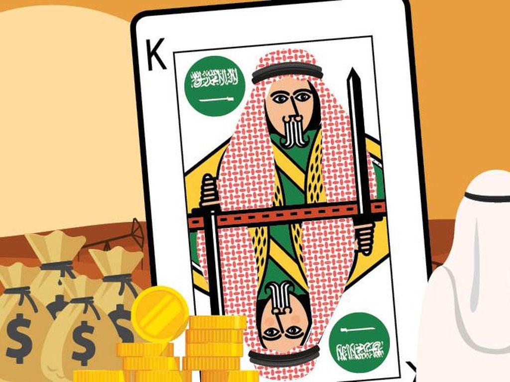 Tajir Minta Ampun! Harta Kerajaan Arab Saudi Rp 21.000 Triliun