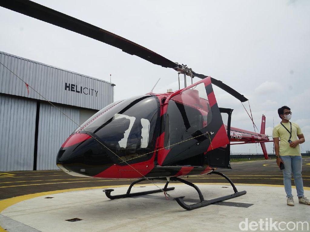 Apa Saja Kelebihan dan Fasilitas dari Taksi Terbang HeliCity Bandara Soetta?