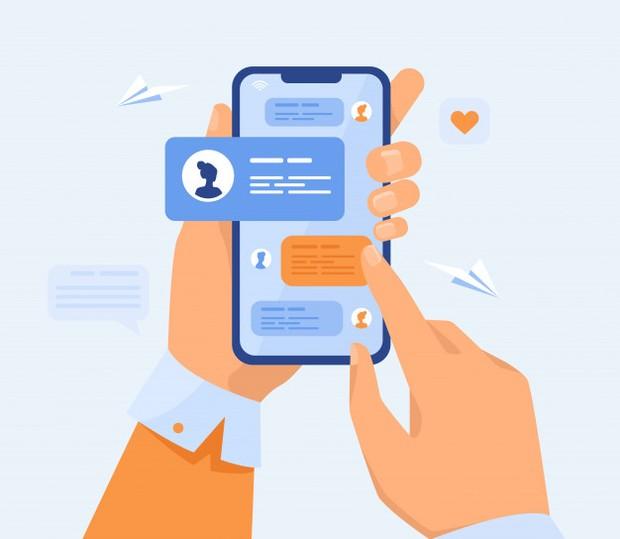 Hindari aplikasi dengan fitur bebas kirim pesan