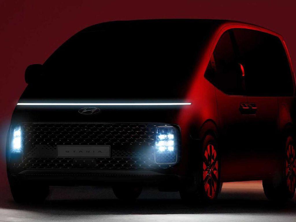 Siap-siap! Minivan Hyundai Staria Bakal Masuk Indonesia Tahun Ini