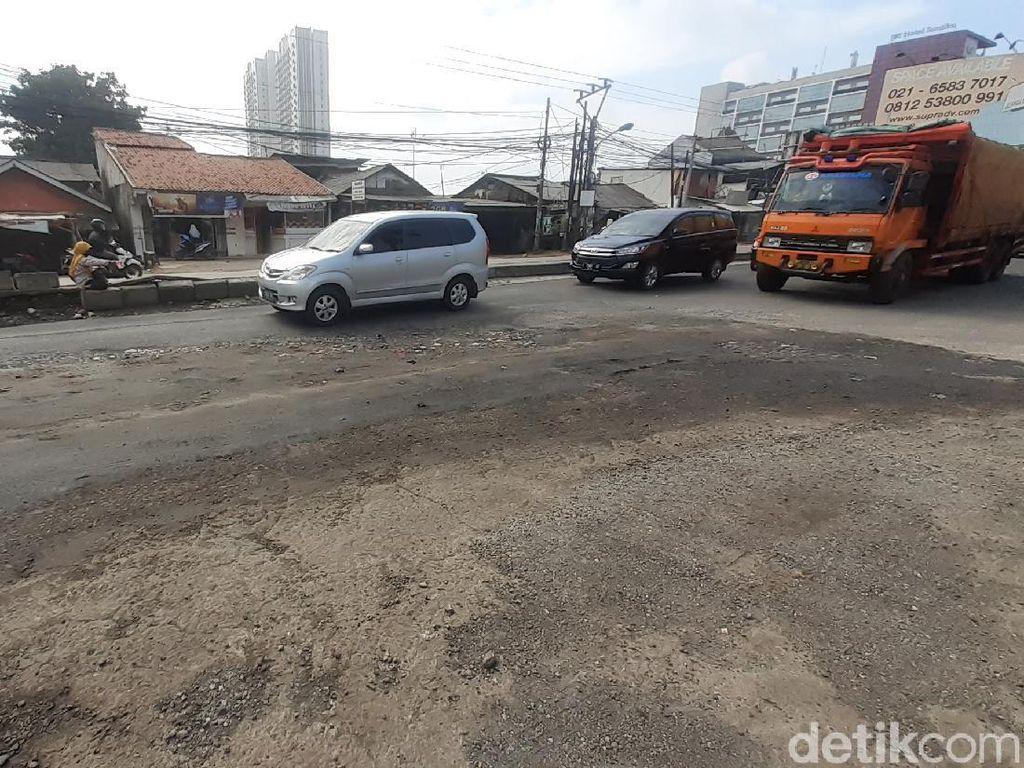 Jl Raya Industri di Bekasi Sudah Diperbaiki, Begini Kondisi Pagi Ini