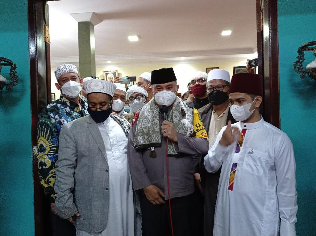 Kunjungi Majelis Nurul Musthofa, Kapolda Metro Bahas Cara DKI Aman dan Sejuk