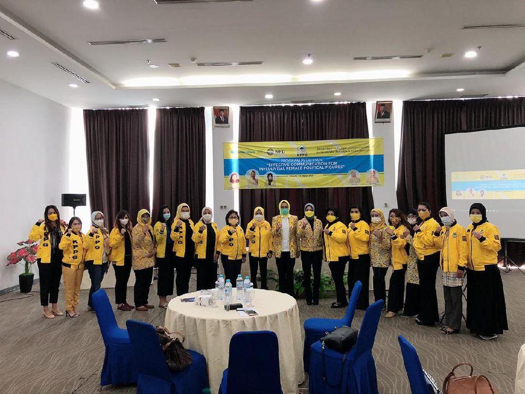 Srikandi Golkar Gelar Pelatihan Dorong Peran Perempuan di Politik