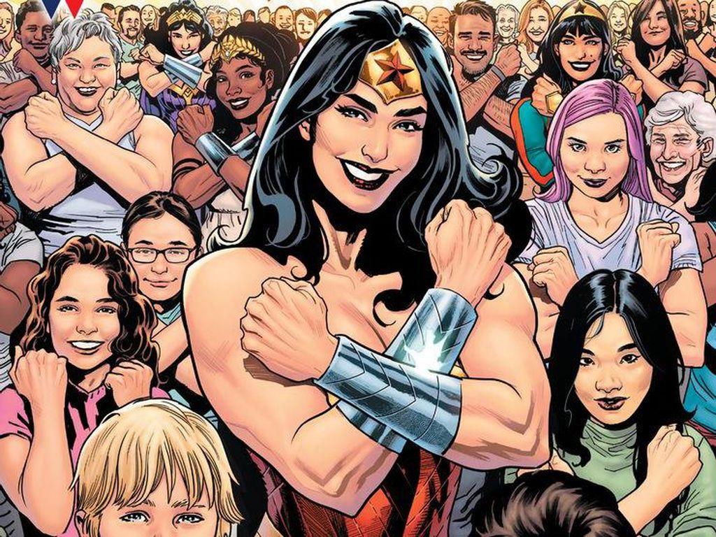 Rayakan 80 Tahun, Wonder Woman Rilis Edisi Spesial 100 Halaman
