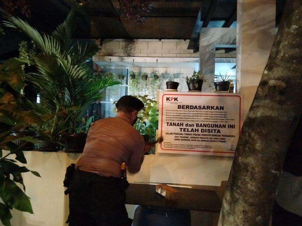 KPK Kembali Sita Rumah Eks Stafsus Edhy Prabowo di Cikarang Bekasi