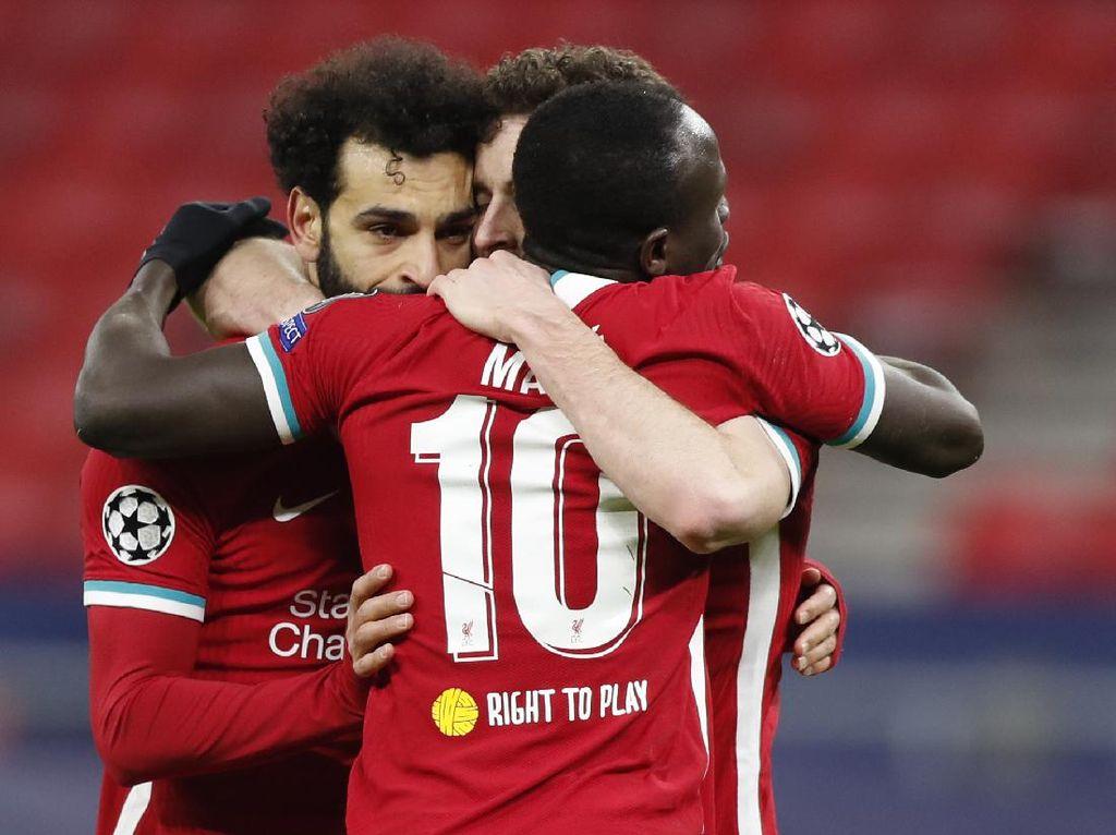 Liverpool Pede Lagi di Liga Inggris Usai Menang di Eropa