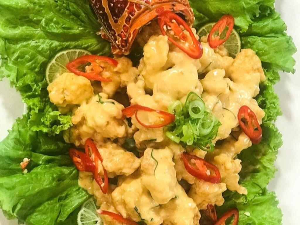 Masak Masak : Lobster Goreng Tepung Saus Telur Asin ala Restoran Seafood