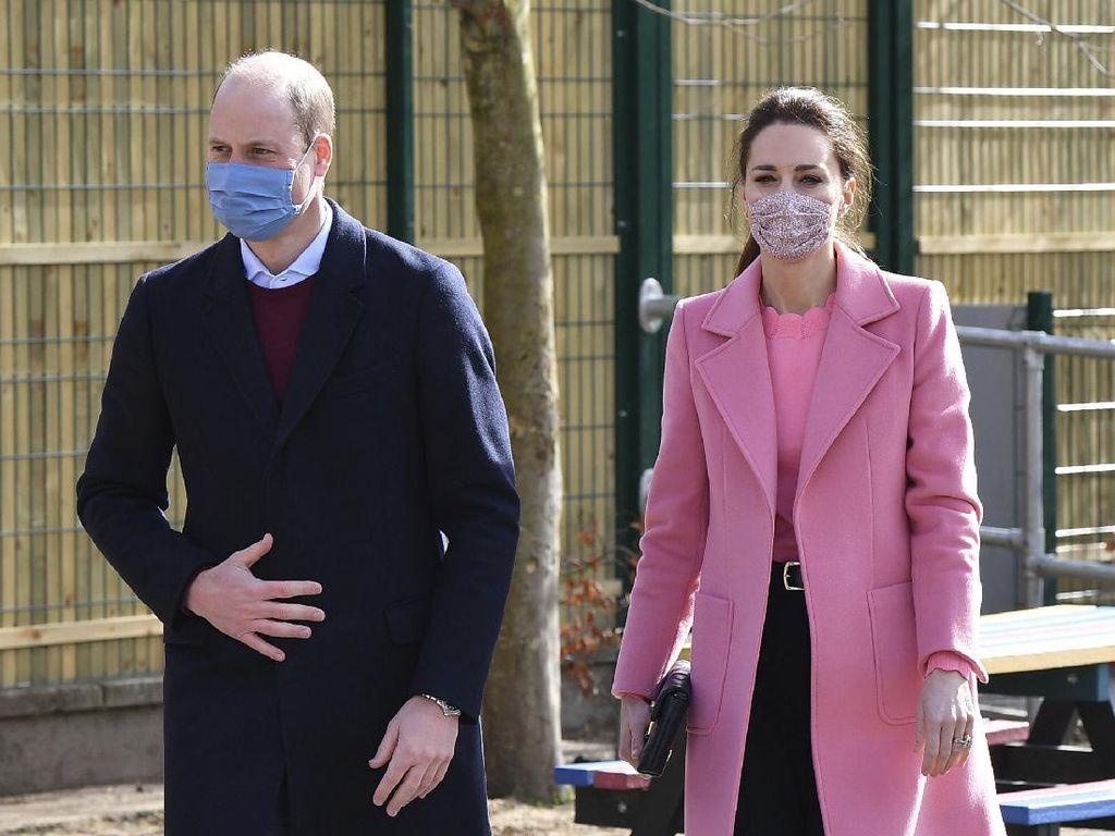 Pangeran William Tegaskan Kerajaan Inggris Bukan Keluarga Rasis