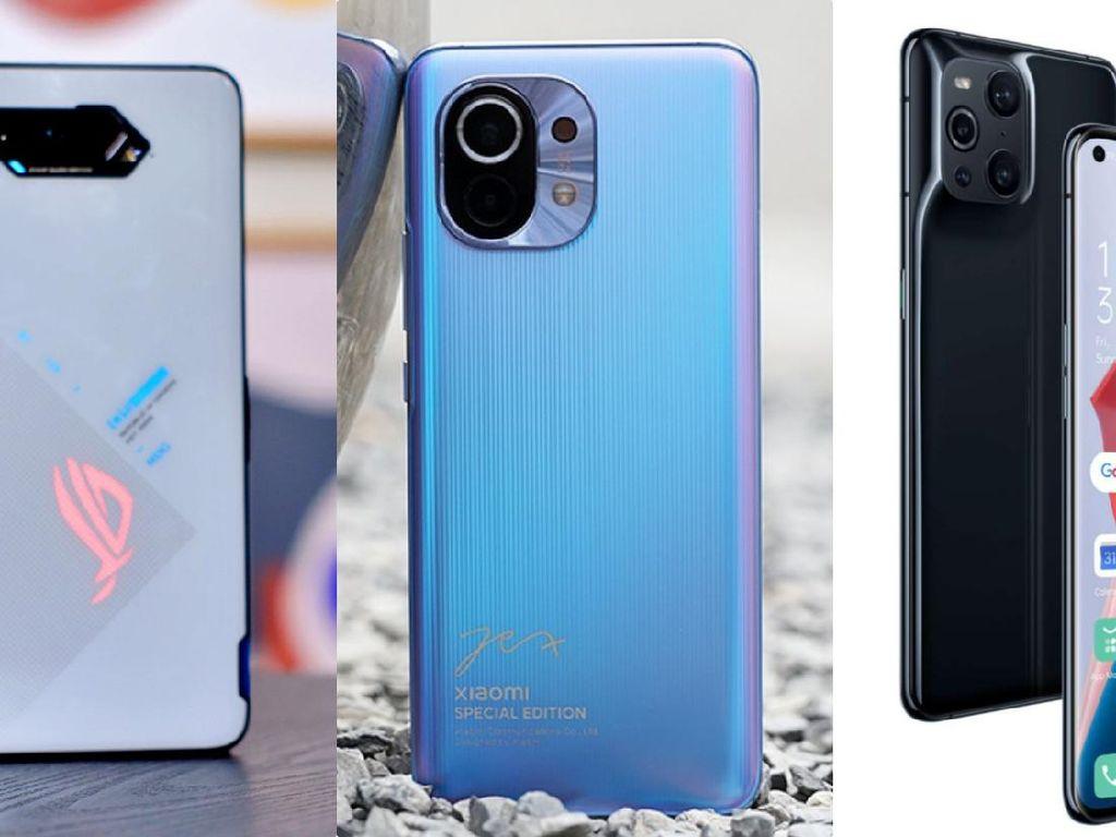 Perbandingan Spesifikasi ROG Phone 5, Mi 11 dan Find X3 Pro