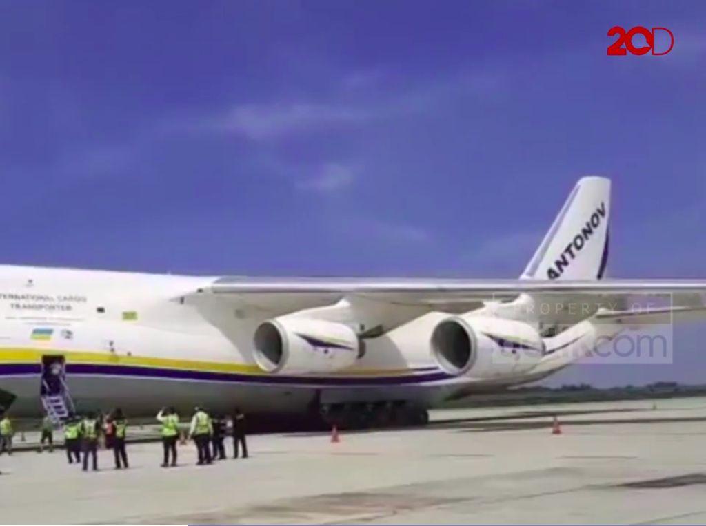 Antonov Ramai di Medsos, Pesawat Apa Sih Ini, Kok Chubby?
