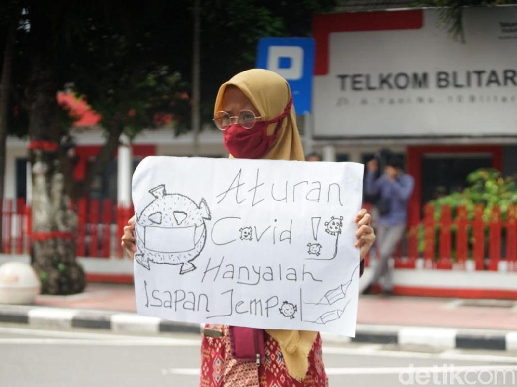 Buntut Video Viral, Mahasiswa Tuntut Wali Kota Blitar Minta Maaf Secara Terbuka