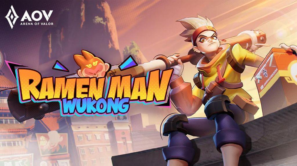 Komik Ramen Man Wukong Arena of Valor