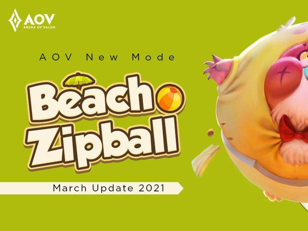 Update AOV Maret 2021: Hadirkan Mode Beach Zipball Sambut Musim Panas