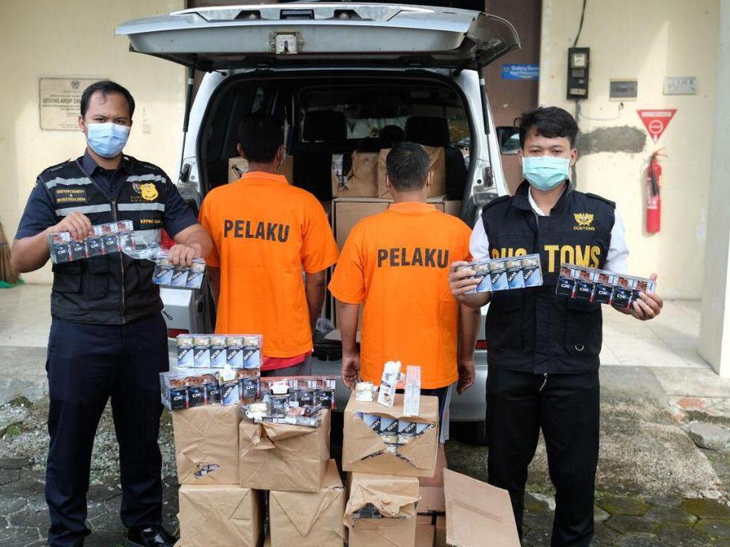 Jutaan Rokok Ilegal Senilai Rp 1,5 M dari Jepara Disita Bea Cukai