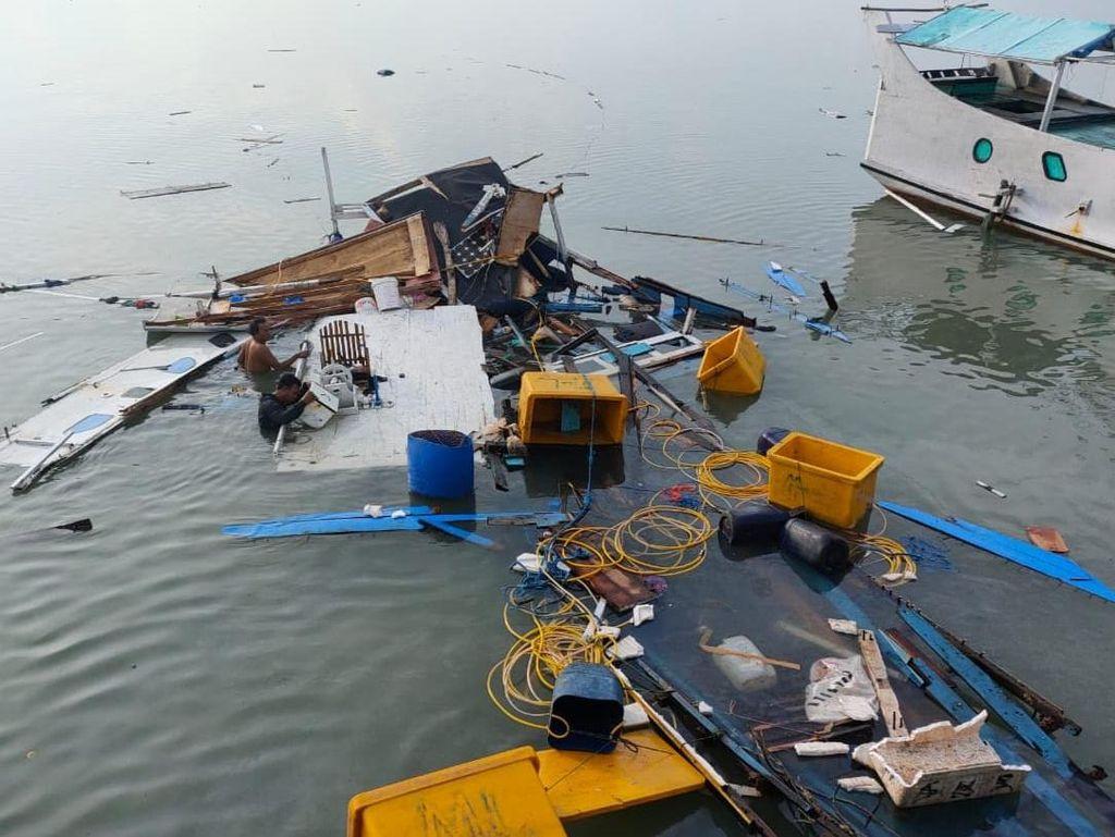 Elpiji Meledak Lukai Nakhoda dan 3 ABK Perahu Motor di Sumenep