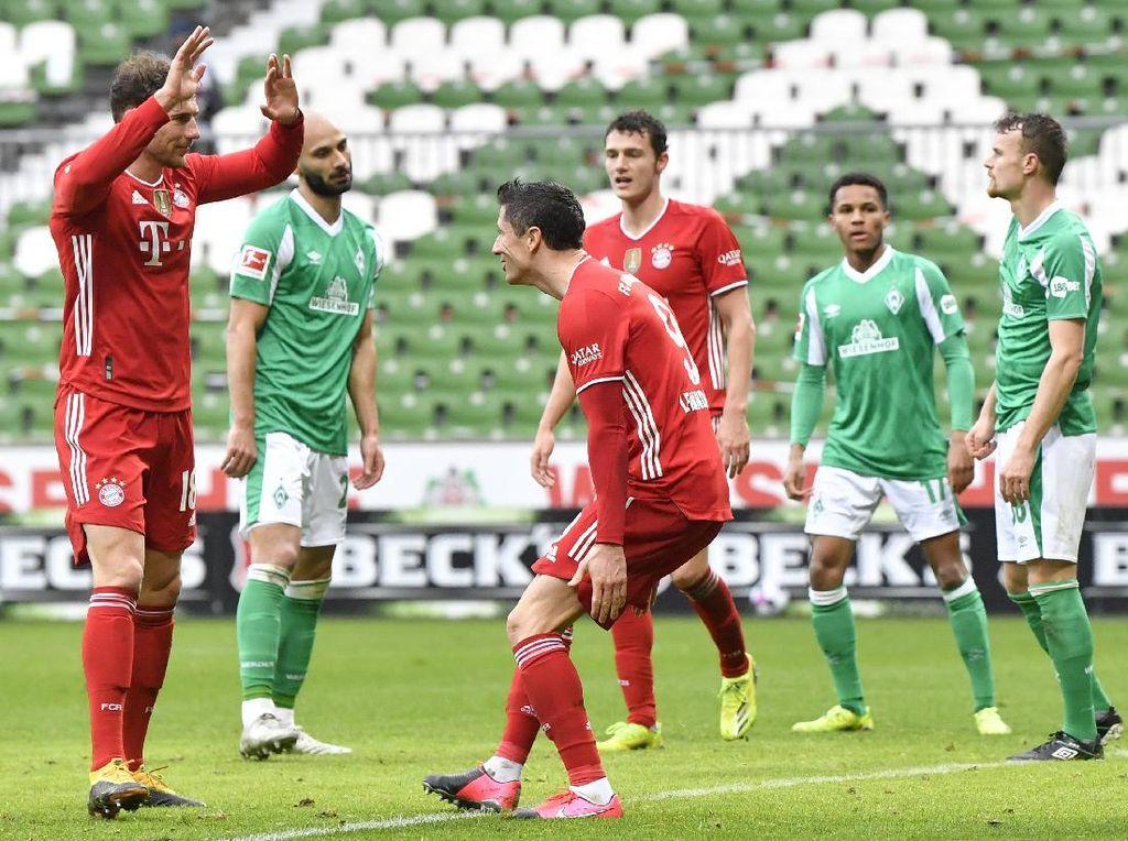 Bremen Vs Bayern: Die Roten Taklukkan Tim Tuan Rumah 3-1