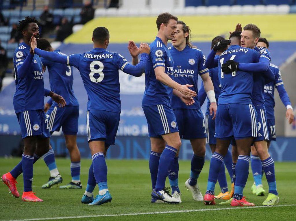 Leicester Vs Sheffield: Pesta Gol 5-0, Si Rubah Gusur MU