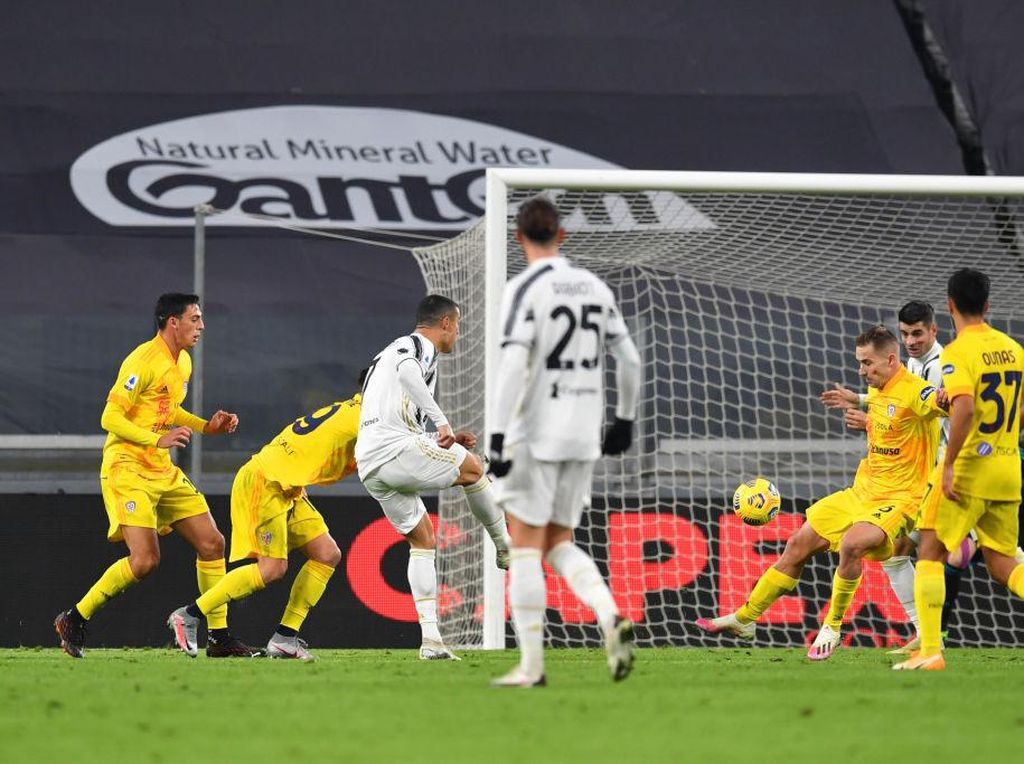Cagliari Vs Juventus: Ronaldo Bakal Bikin Rekor Ini Jika Cetak Gol
