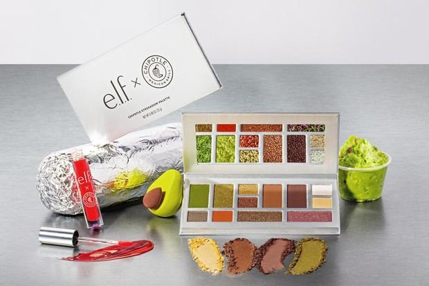 Produk kolaborasi e.l.f dan Chipotle