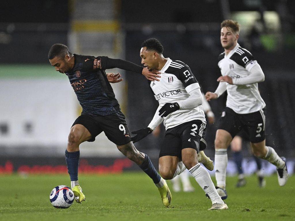 Babak Pertama Fulham vs Man City Masih 0-0